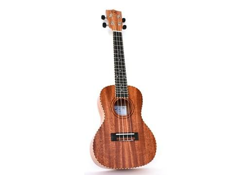 Twisted Original Concert Ukulele with Padded Gig Bag