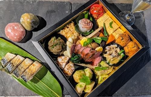 Dinner-Box mit Sake