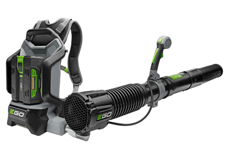 LB6002E Backpack Blower - with 5Ah battery and fast charger