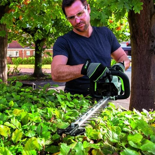 HT2410E 60cm Double Sided Hedgetrimmer  with 2.5ah Battery and Charger