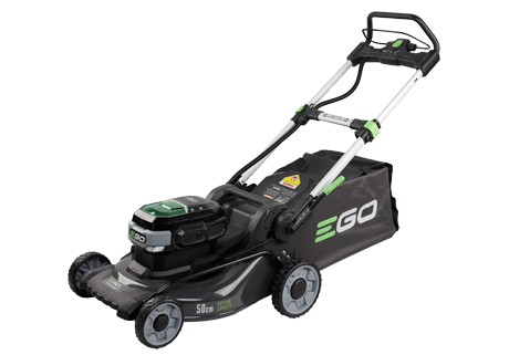 LM2020E-SP  50cm Self Propelled Steel Deck Mower with 5ah Battery and Fast Charger