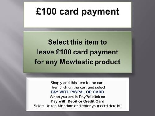 £100 card payment