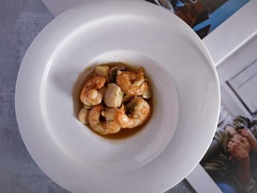 西班牙油蒜風味蝦