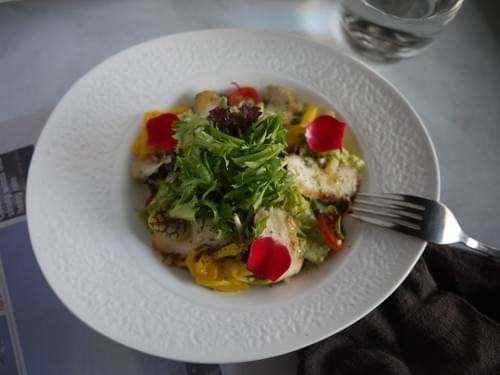 和風花椒嫩雞沙拉