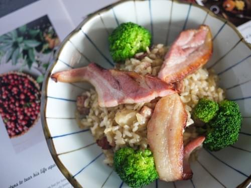 煙燻培根德式酸菜燉飯(產地:台灣豬)