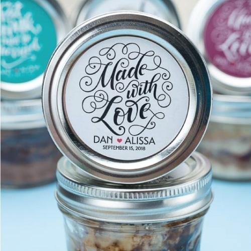 Chocolate Chip Caramel Cookie Cake Jars