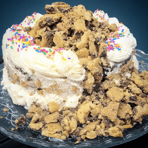 The Ultimate Cookie Cake