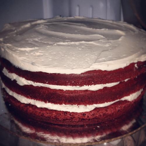 The Betty Jo Cookie Cake (Red Velvet)