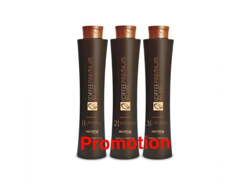 LISSAGE BRESILIEN COFFEE PREMIUM  HONMA TOKYO  keratine  shampoing et masque 1L