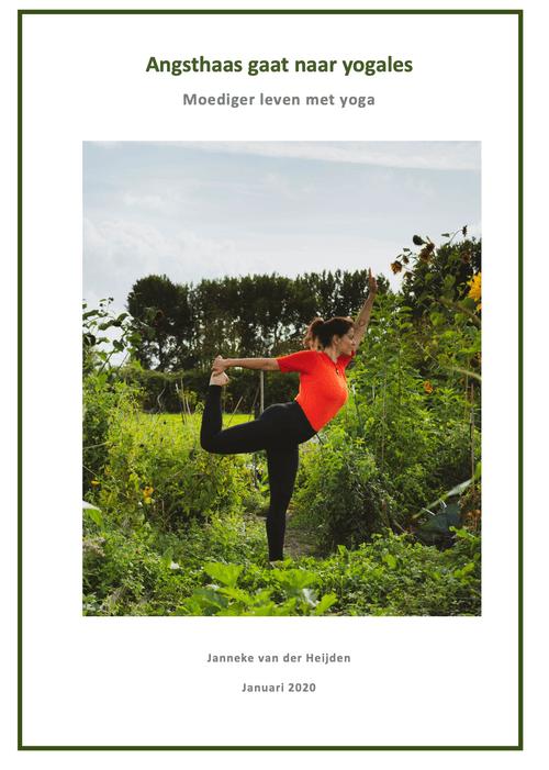 E-book Angsthaas gaat naar yogales