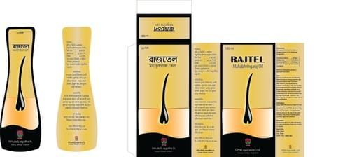 RAJTEL - Maha Bhringaraj Oil