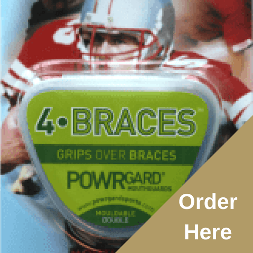 POWRGARD DOUBLE Arch Mouthgards (All ages - suitable for Boxing, Rugby and Martial arts)