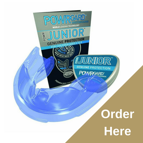 Powrgard Junior Gum Shield - children Ages 5 to 9, All Sports