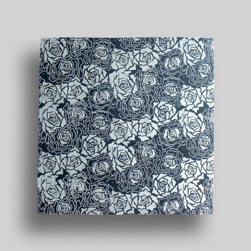 Blue + White Roses