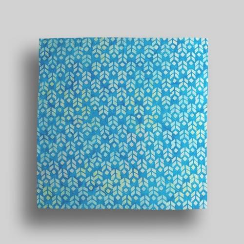 Blue Arrow Print