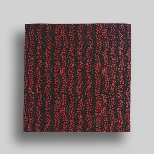 Black + Red Bubbles