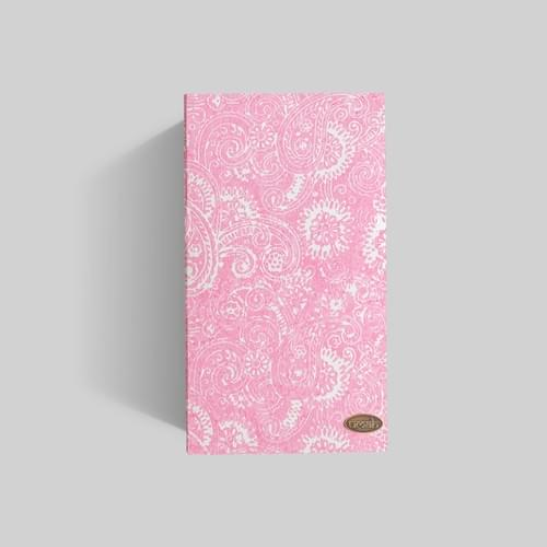 Pink + White Swirls