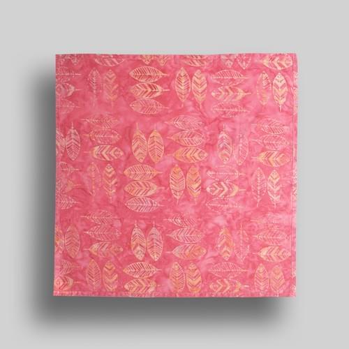 Pink + Orange Feathers