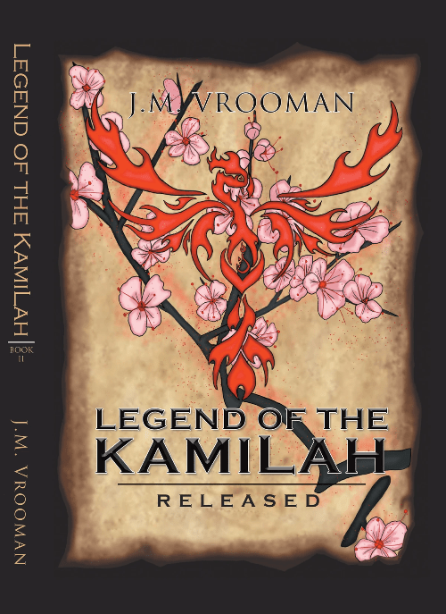Legend of the KamiLah Released Book Two