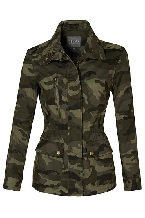 Dope Mommie Camo Military Jacket