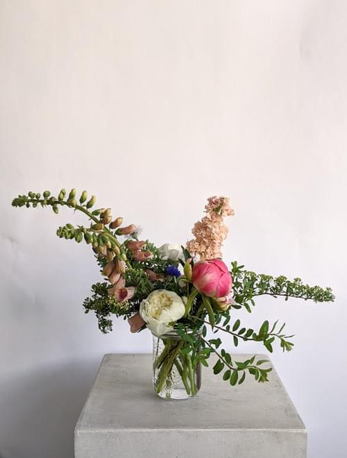 Mason Jar Arrangement