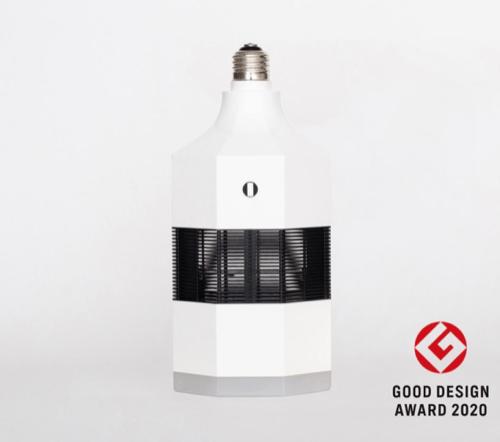 LED脱臭照明 MIKAZE 選べる電球色(不点灯も可能)