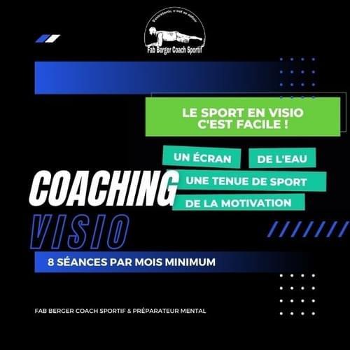 COACHING SPORTIF EN VISIO (PARTOUT DANS LE MONDE)