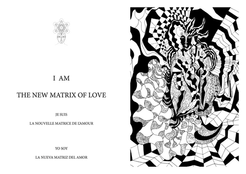 THE TWINFLAME PATH IN THE SOLAR CONCIOUSNESS : Inspirational Thoughts & Meditative Drawing