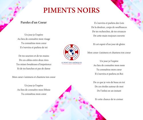 PIMENTS NOIRS
