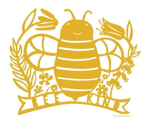 Bee Kind Art Print
