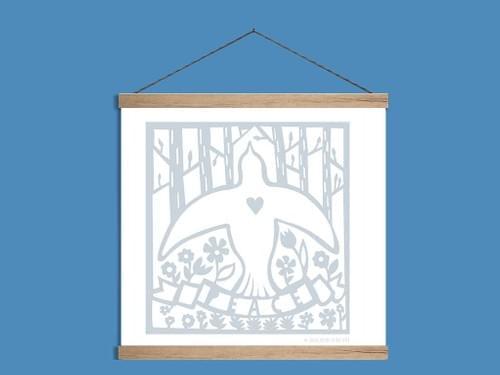Dove of Peace-Art Print
