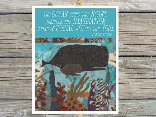 In the Australian Reef-Art Print