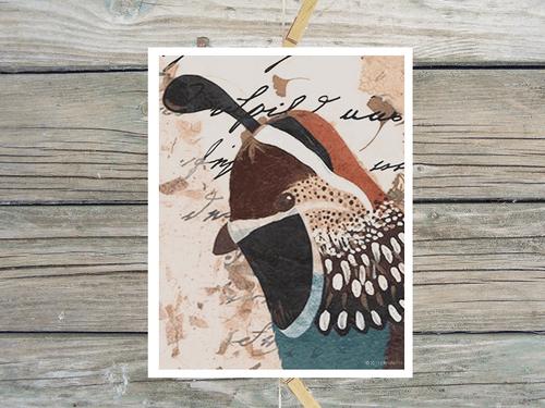 Quail Watchman-Art Print