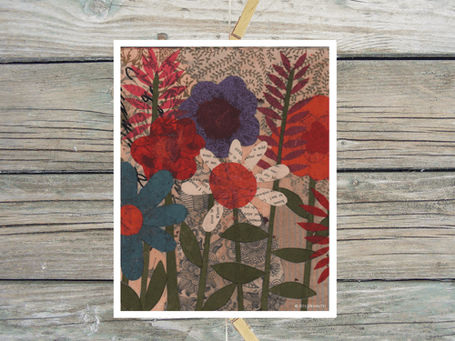 Grandma's Garden-Art Print
