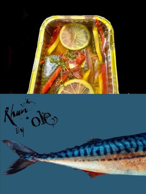 冷泡油漬檸檬鯖魚(2包)Marinated Mackerel(2 packs)