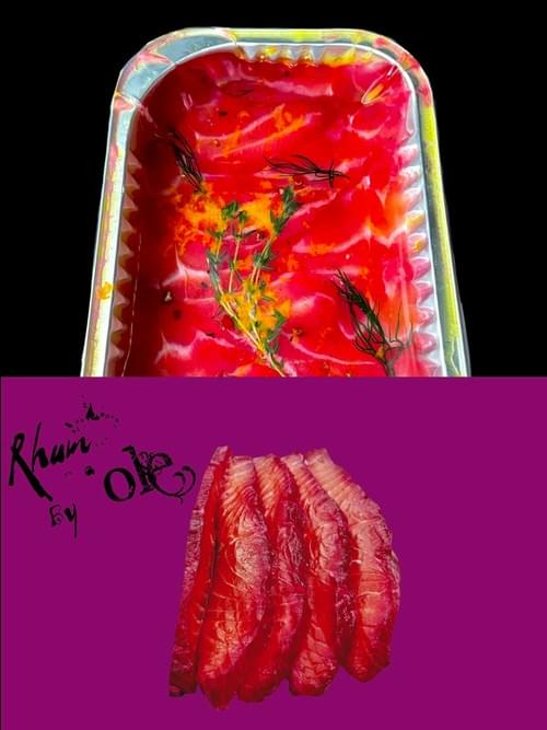 冷泡甜菜根漬鮭魚(2包)Beetroot Cured Salmon(2 packs)