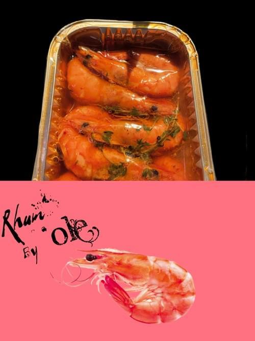 冷泡油漬蘭姆酒白蝦(2包)Marinated Rum Shrimp(2 packs)