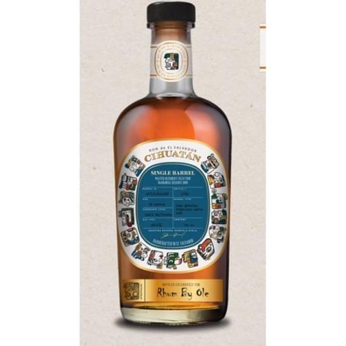 RON CIHUATÁN - single barrel