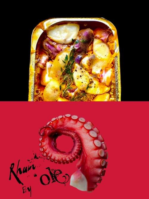 冷泡油漬章魚佐馬鈴薯(2包)Marinated Octopus with Baby Potato(2 packs)