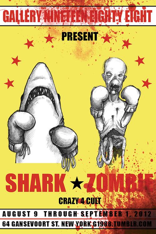 Shark vs Zombie