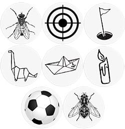 Stickers Toilettes - Pack Promo - 16 Stickers