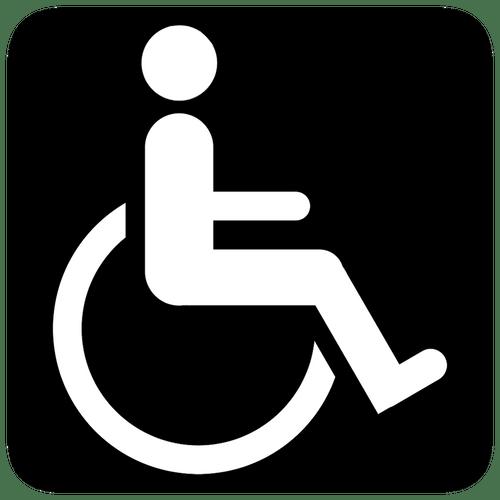 Stickers muraux porte wc – Femme Homme et Handicapé au choix