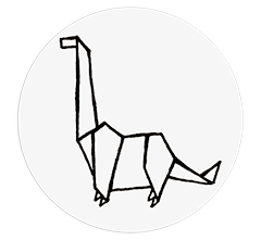 Stickers WC – Le Dino – 6 stickers