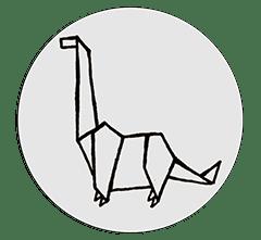 Stickers WC – Le Dino – 6 stickers