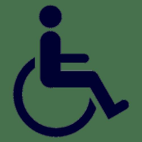 Stickers muraux porte wc – Mixte et Handicapé au choix