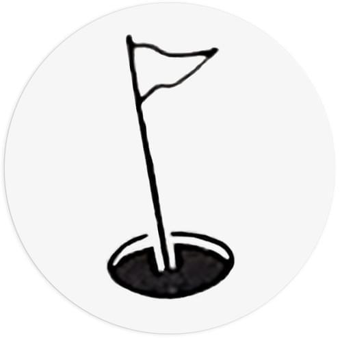 Cible Urinoir – Golf – 6 Stickers