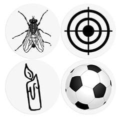 Stickers Toilettes - Spécial Lieux Publics et Urinoirs - 8 Stickers