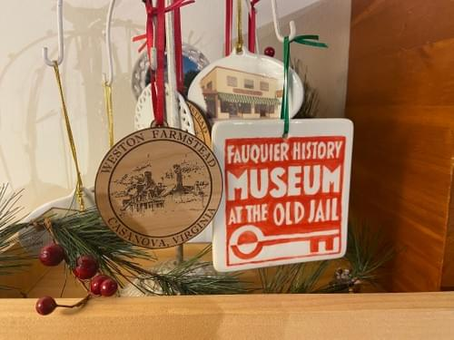 Christmas Ornament- Fauquier History Museum at the Old Jail