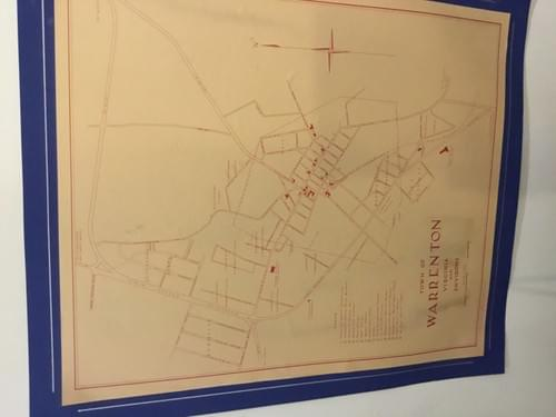 1953 Map of Warrenton