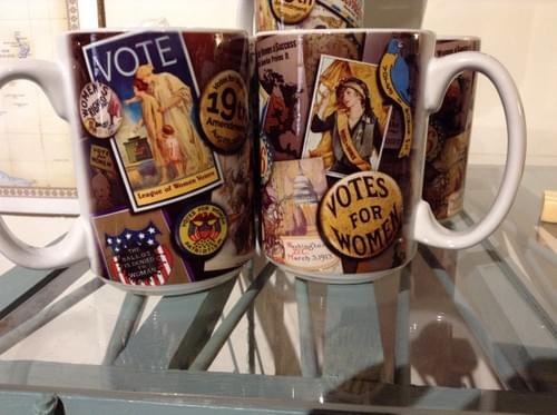 Votes For Women mug
